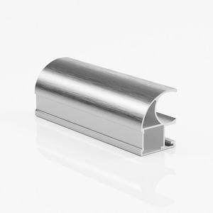 Ручка профиль асимметричная серебро браш