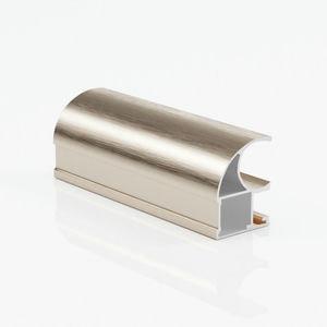 Ручка профиль асимметричная золото браш