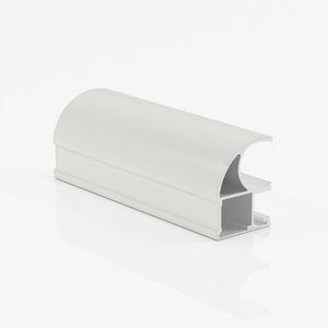 Ручка профиль асимметричная белый матовый
