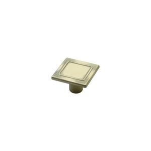 Мебельная ручка-кнопка 87 бронза
