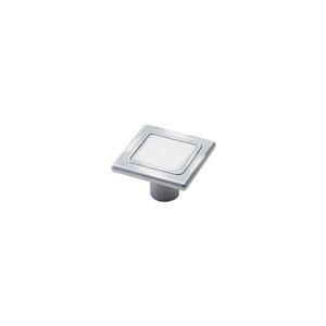 Ручка-кнопка 87 состаренное серебро