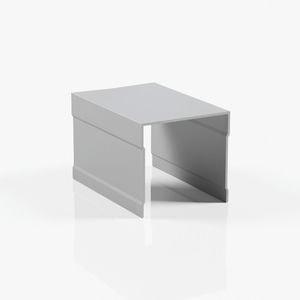 Профиль верхний однополозный серебро