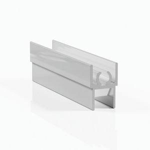 Профиль горизонтальный верхний - белый глянец