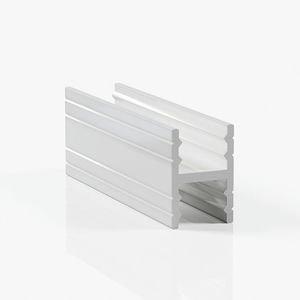 Профиль разделительный без винтов - белый глянец