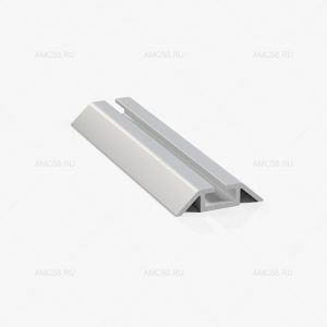 Профиль нижний ходовой однополозный серебро