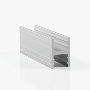 Профиль разделительный без винтов - серебро