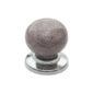 Ручка-кнопка V-9618 хром