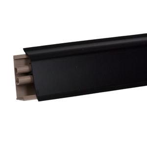 Плинтус Korner Черный матовый LB38-6051