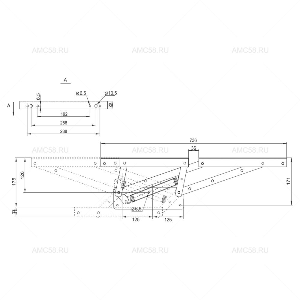 Механизм трансформации №578 схема