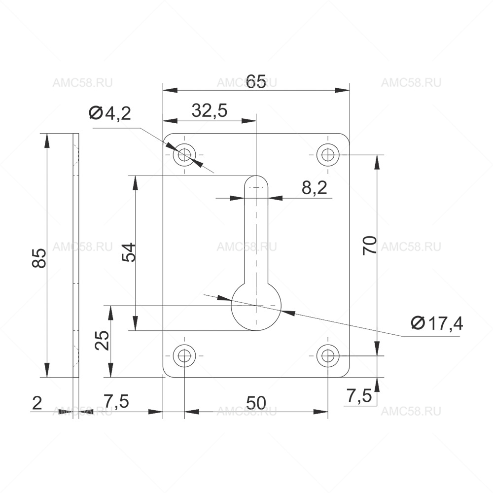 Пластина №403 схема