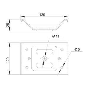 Стяжка стола схема