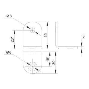 Уголок №292-1 схема